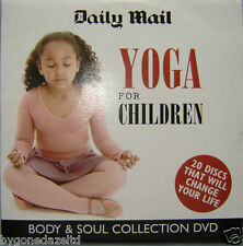 YOGA FOR CHILDREN DVD Mail Promo YogaBugs Ocean & Jungle Yoga Stories