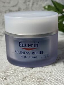 Eucerin REDNESS RELIEF Soothing Night Cream 1.7 Oz ~ New No Box/Sealed Free Ship