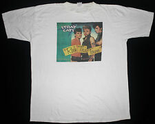 VINTAGE 80's STRAY CATS ROCKABILLY ROCK PUNK BRIAN SETZER TOUR CONCERT T-SHIRT