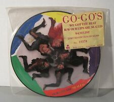 The Go Go's - We Got The Beat USA Picture Disc 45 Belinda Carlisle LE #18370