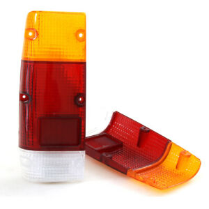 A PAIR OF REAR BODY TAIL LIGHT LENS FIT FOR DATSUN 720 PICKUP