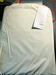 Room & Board Signature Percale Fitted Sheet FULL, Ecru, NWT