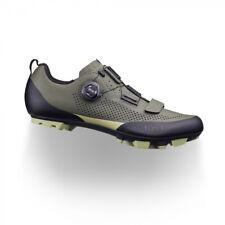 Fizik X5 Terra Mountain Bike Shoe - Military Green / Tangy Green - 44