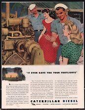 1944 CATERPILLAR Diesel Power Plant Pacific USO WWII WW II WW2 AD