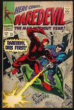 DAREDEVIL #35 1967 GLOSSY VF MINUS   DAREDEVIL + THE TRAPSTER,ALSO SUE STORM!