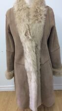 SHEARLING COAT 100% SHEEPSKIN Sz.S (6)
