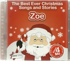 ZOE - THE BEST EVER CHRISTMAS SONGS & STORIES PERSONALISED CD