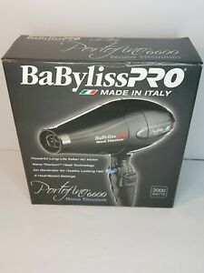 NEW! BaByliss Pro Portifino 6600 Nano Titanium Hair Dryer 2000 Watts