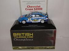 ATLAS EDITIONS CHEVROLET CRUZE J PLATO 2010 BRITISH TOURING CAR CHAMPION 1/43