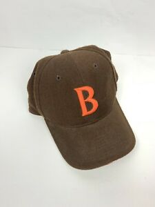 Vtg Nike Team Official Sideline Cleveland Browns Wool Hat Cap Fitted 7 1/8 Rare