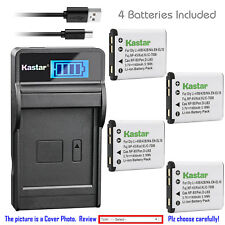 Kastar Battery LCD USB Charger for Kodak KLIC-7006 & Kodak Easyshare M552 Camera