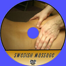 SWEDISH BODY MASSAGE TUTORIAL STEP BY STEP INSTRUCTION GUIDE DVD RELAXING NEW