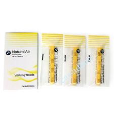 OEM BMW Natural Air Car Air Freshener Vitalizing Woods 3x Sticks Refill-Kit