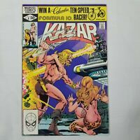 Ka-Zar The Savage #8 (Marvel Comics, 1981)