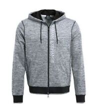 Armani Exchange Men's Heathered Logo Full Zip Fleece Hoodie Size XL