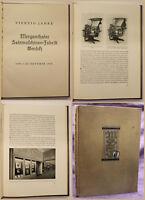 Vierzig Jahre Mergenthaler Setzmaschinen-Fabrik GmbH 1936 Druckerei sf