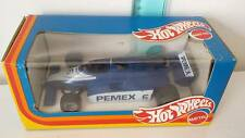 Boxed 1/25 scale HOT WHEELS MATTEL BRABHAM BT49C PEMEX 6 F1 car. MADE IN ITALY