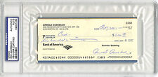 Red Auerbach SIGNED/ENCAPSULATED CHECK GM Boston Celtics PSA/DNA AUTOGRAPHED