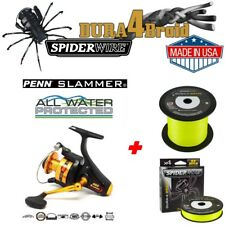Penn Slammer 460 + 350m Spiderwire® Dura4Braid 0,25mm 23,2kg