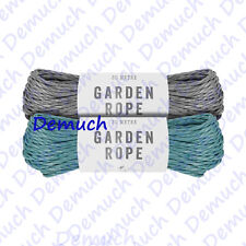 New Strong Garden Rope 30m Braided Triple Strand Polypropylene Weatherproof UK ✔