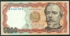 TWN - PERU 117c - 5000 Soles 21/6/1985 UNC