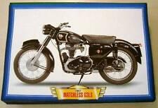 MATCHLESS G3 ls 3 350 G Classic Vintage Moto Bicicleta década de 1950 imagen 1957