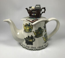 Vintage Made in England 1997-98 Paul Cardew Signed Collectors Club Teapot