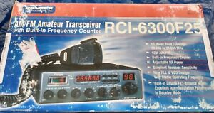Ranger Communications RCI-6300F25 Amateur Transceiver - Please Read Description