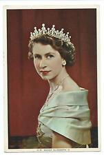 ROYALTY  - H.M. QUEEN ELIZABETH II  Postcard