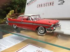 Danbury Comme neuf 1:24 Christine Plymouth Fury Horreur Steven King killer film voiture
