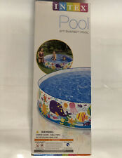 Intex 6ft x 15in Snapset Kids Pool for Ages 3+ Brand New