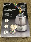 Deni Automatic Ice Cream Maker With Candy Crusher Ice Cream Molds EC