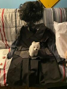 Game of Thrones: Jon Snow costume, wig, and ghost plushie