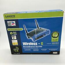 Linksys Wireless - G Broadband Router WRT54G WPA2 & WMM Easy Setup in Box