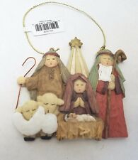 Nativity Scene Christmas Tree Ornament Family Christian Stores