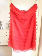 Size 16 Red strapless dress from Special Edition Red Herring