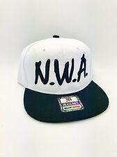 N.W.A Vintage Snapback NWA Cap Hat black/white Niggaz Wit Attitudes ORIGINAL