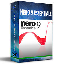 Nero 9 Essentials cd burning software