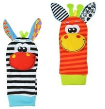 2pcs/set Baby Infant Toy Rattles Foots finders Socks Developmental Gift