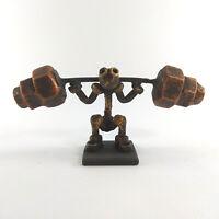 Metal Bodybuilder model recycled art gift for coach loft sport fitness crossfit