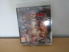 STREET FIGHTER X TEKKEN - Sony Playstation 3 PS3 new sealed pal