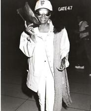 Diana Ross at LAX - 1983 - Vintage Celebrity Photo
