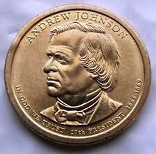 2011 US Presidential Dollar Coin Andrew Johnson D in BU Condition