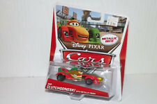 DISNEY PIXAR CARS 2 RIP CLUTCHGONESKI CHASE WITH METALLIC FINISH NEW