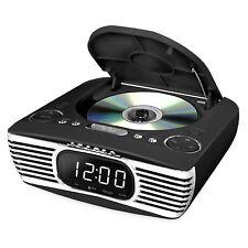 Innovative Technology V50-250-Blk Bluetooth Alarm Clock w/Cd Player & Fm Radio