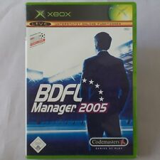 XBOX - Microsoft ► BDFL Manager 2005 ◄ inkl. Poster