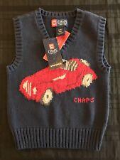 NWT Chaps Little Boy Sweater Vest Size 2T