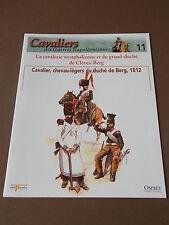 Fascicule N°11 Del Prado Soldat Guerre Napoléon Cavalier Duché de Berg 1812