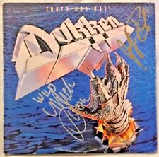 """Autographed/Signed Dokken """"Tooth And Nail"""" Vinyl George Lynch + 2"""