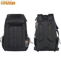 30L Backpack Large Medical Bag Molle System Climbing Travel Sport Versatile BLK